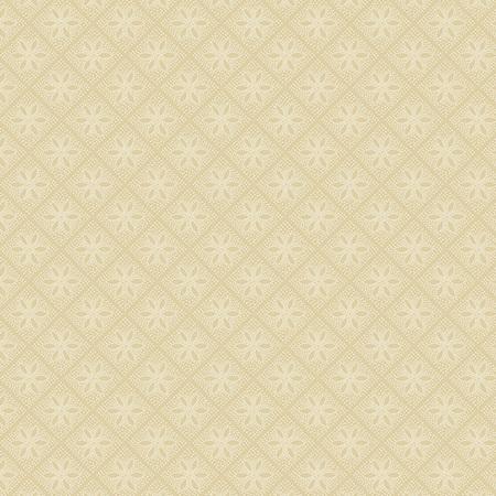 Creme Fraiche Diamond Flower Tiles Cream A-9736-N