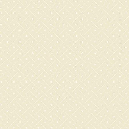 Creme Fraiche Dotted Bias Line with Flower Cream A-9740-N