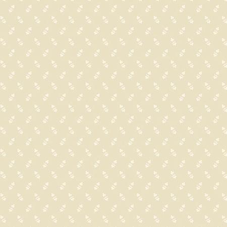 Creme Fraiche Set Opposing Leaves Cream A-9737-N