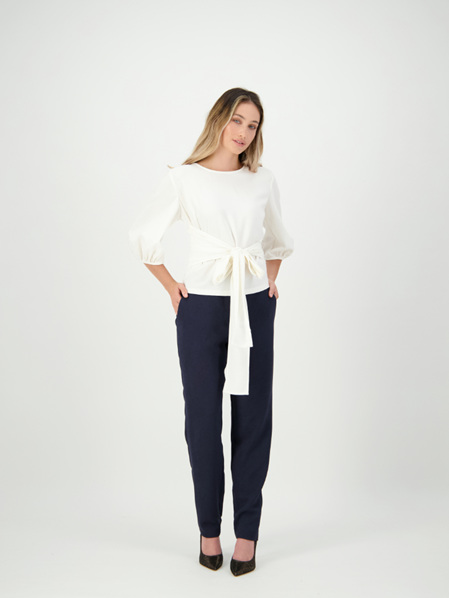 Crepe Shearwater Blouse