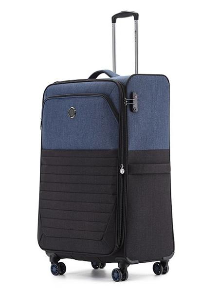 Crew Lite 2Tone Fabric Case Size M Blue