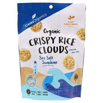 Crispy Rice Clouds Organic - 50g Mixed