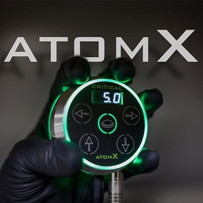 Critical Tattoo® Atom X Power Supply (Black)