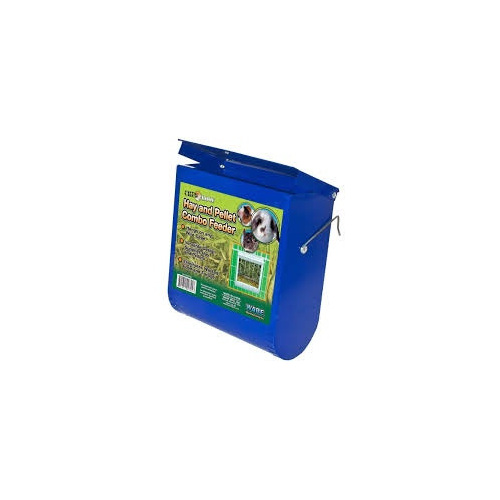 Critterware  Hay & Pellet Combo Feeder (Chewproof)