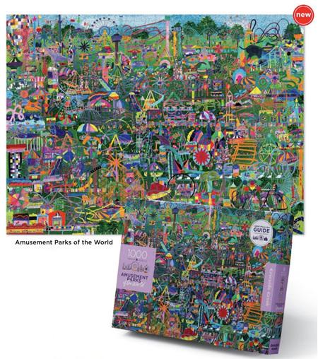 Crocodile Creek 1000 Piece  Jigsaw Puzzle: Explore Amusements  Parks Of The World