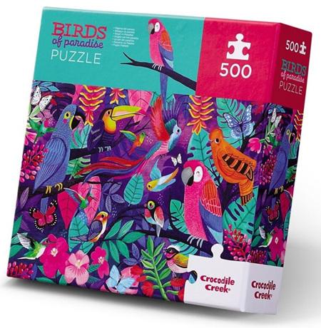 Crocodile Creek 500 Piece  Jigsaw Puzzle: Birds Of Paradise