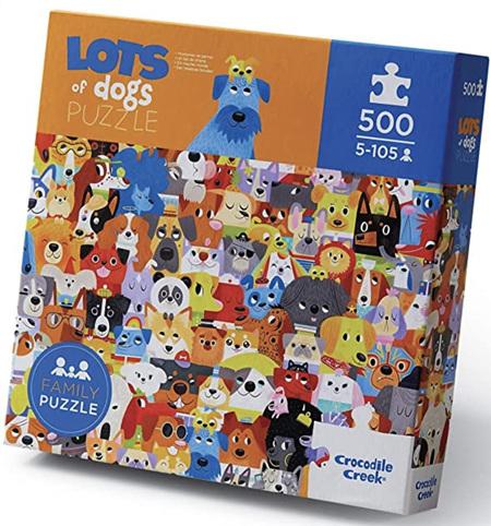 Crocodile Creek 500 Piece  Jigsaw Puzzle: Lots Of Dogs