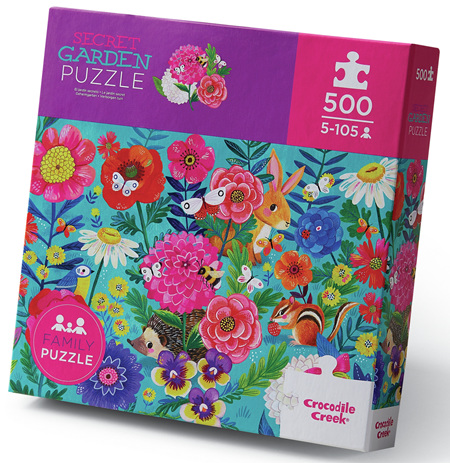 Crocodile Creek 500 Piece  Jigsaw Puzzle: Secret Garden