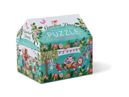 Crocodile Creek Garden Party 24 Piece Puzzle