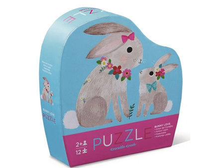 Crocodile Creek Mini Puzzle Bunny Love