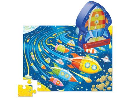 Crocodile Creek Space Race 36 Piece Foor Puzzle