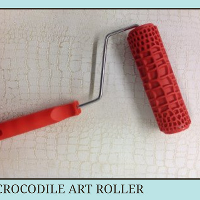 Crocodile Decorative Art Roller