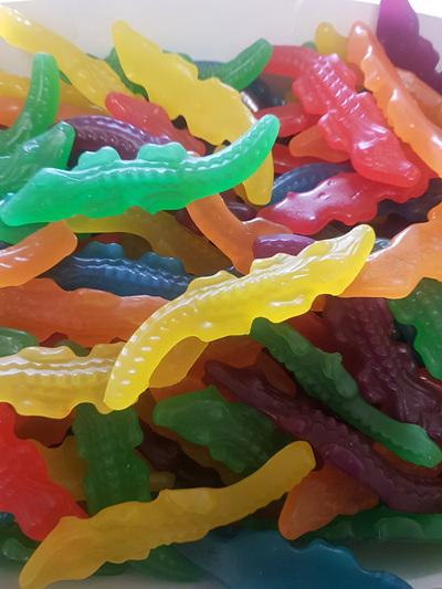 Crocodiles - 500gram bag Mayceys crocodiles!