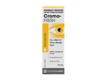Cromo Fresh Eye Drops 10ml
