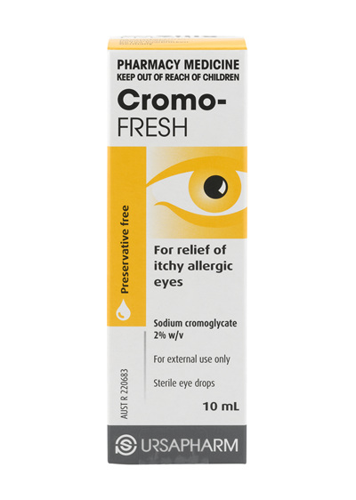 Cromo Fresh Eye Drops 10ml