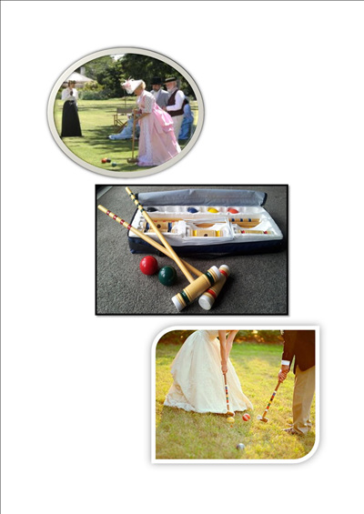 CROQUET small and large sets