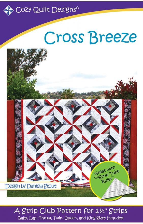 Cross Breeze Quilt Pattern