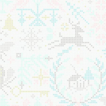 Crossed Snowflake A-9117-L