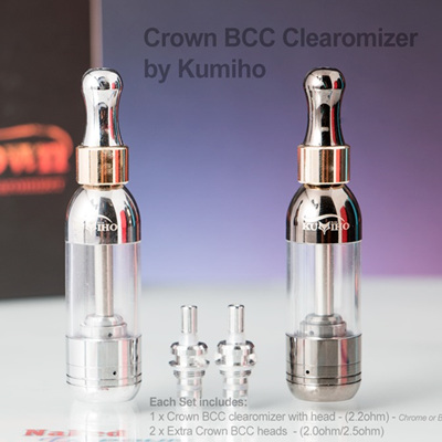 Crown BCC Clearomizer - DISCONTINUED