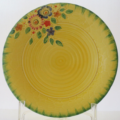 Crown Devon yellow bowls