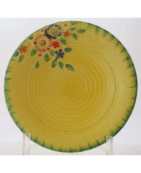 Crown Devon embossed bowl