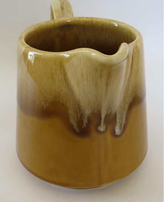 Crown Lynn Honeyglaze vase