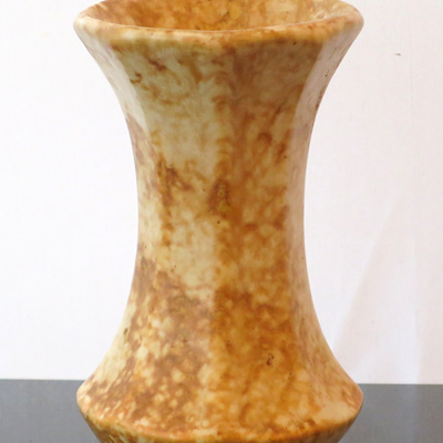 Brown octagonal marble glaze