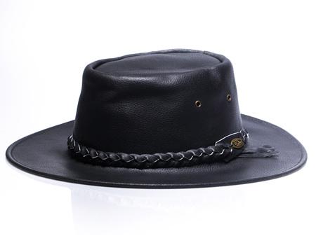 Crushable Leather Black