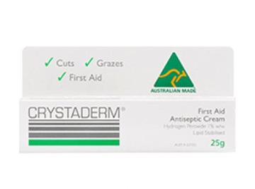 Crystaderm 1% Cream 10g