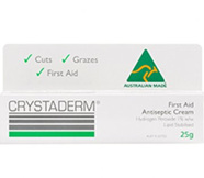 Crystaderm® First Aid Antiseptic Cream - 10g