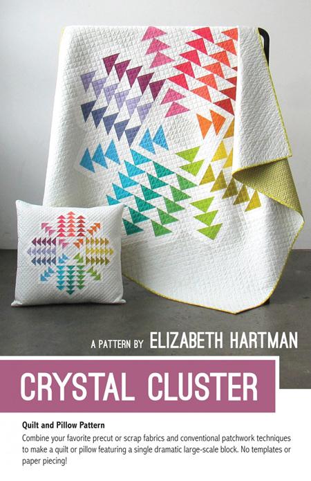 Crystal Cluster Quilt Pattern from Elizabeth Hartman
