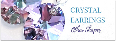 Crystal Earrings in Other Shapes