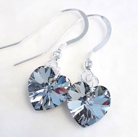 Crystal Hearts (Swarovski)