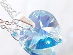 Crystal Pendant - Aquamarine (AB)