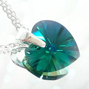 Crystal Pendant - Emerald