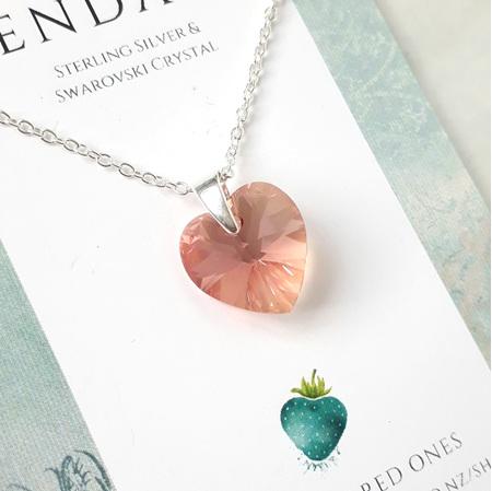 Crystal Pendant - Prettiest Peach