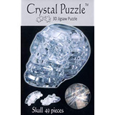 Crystal Puzzle - Clear Skull