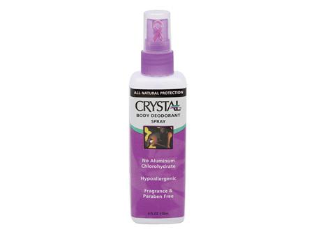 Crystal Spray Deodorant Unscented 118ml
