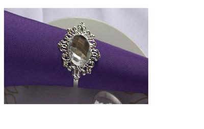 Crystal Table Napkin Ring