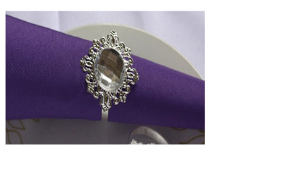 Crystal Table Napkin Ring