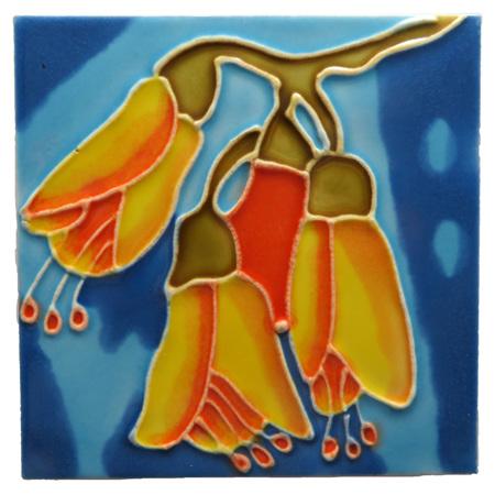 CT111 Kowhai Wall Art or Coaster