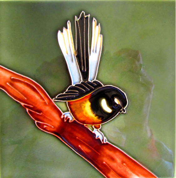 CT45 Ceramic Wall Art Fantail