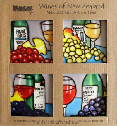 CTW Coasters New Zealand Wines