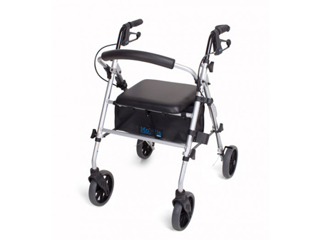Cubro Mobilis Plus Rollator 8 Inch  Wheels
