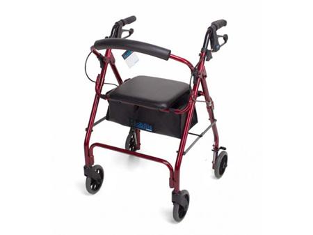 Cubro Mobilis Quad Walker 6 Inch Wheels