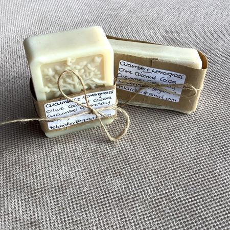 Cucumber & Lemongrass Soap