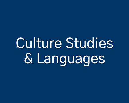 Culture Studies and Languages