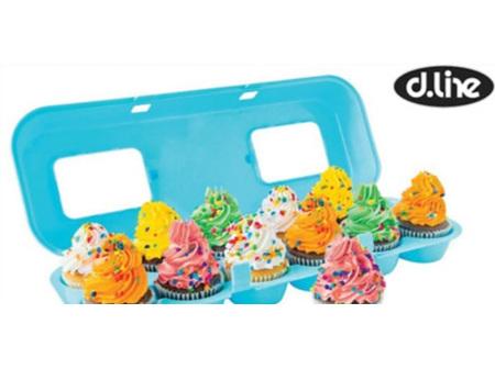 Cupcake Carton Holder for 12 Cupcakes