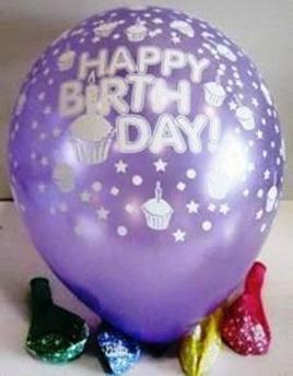Cupcakes Birthday Balloons