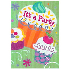 Cupcakes Party Invites
